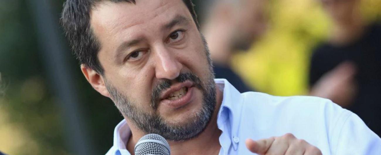 """Alitalia, Salvini: """"Tria rispetti il contratto di governo, come facciamo tutti. La linea è tracciata. Legittima difesa? M5s leali"""""""
