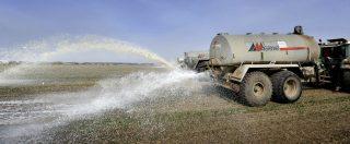 Decreto Genova, fanghi con idrocarburi in agricoltura. Un esperimento chimico sui cittadini