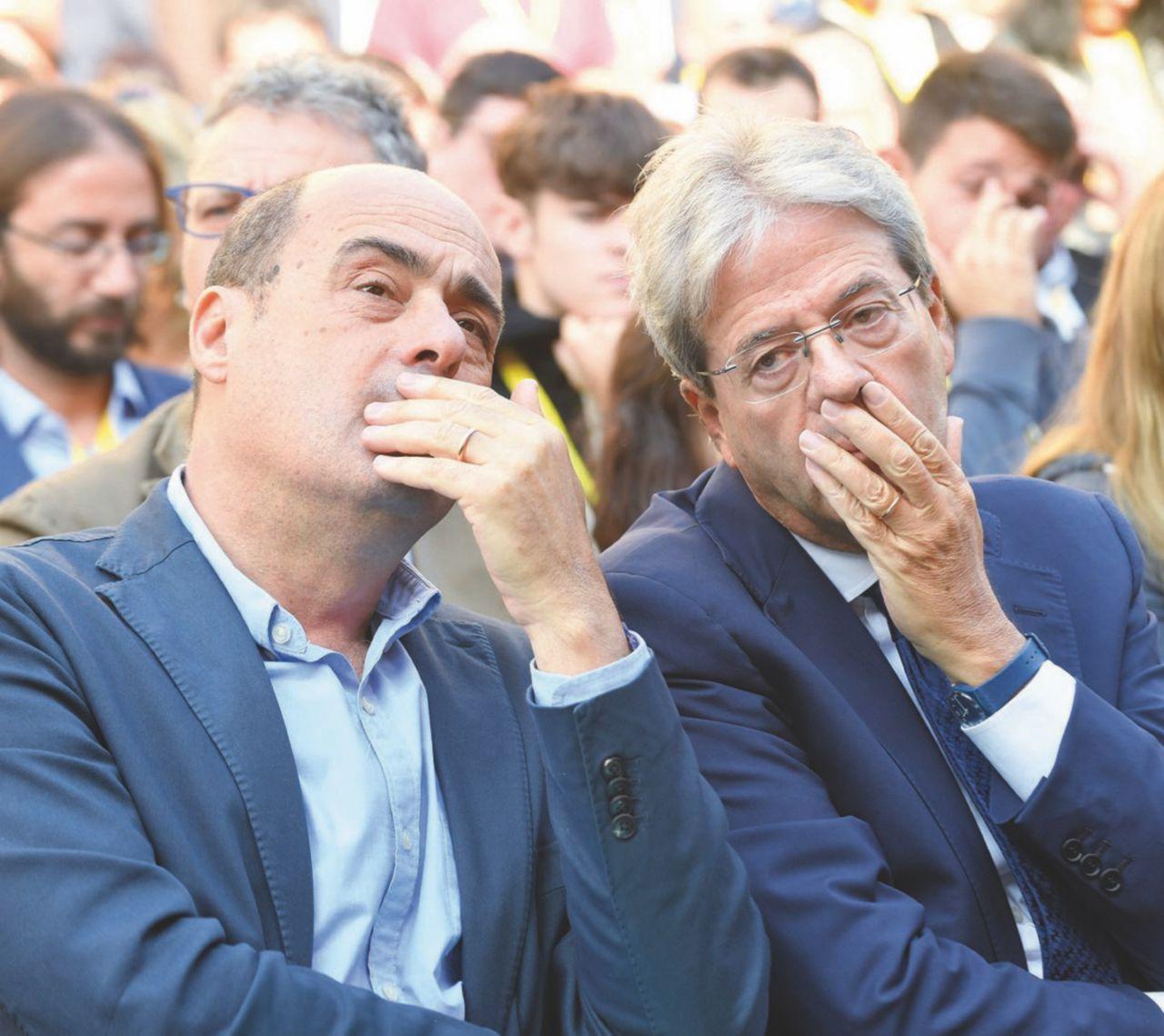 Sul carro di Nicola parecchia zavorra: i ministri di Renzi