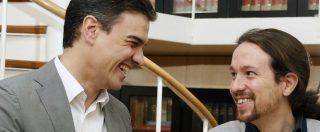 """Spagna, Iglesias e Sanchez insieme contro l'austerity: varata la legge di Bilancio """"più a sinistra della storia"""""""