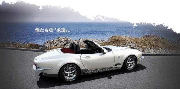 Mitsuoka Rock Star, è una Mazda MX 5 o una vecchia Corvette?