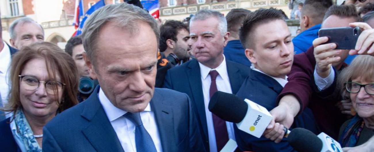 """Brexit, la lettera di Tusk: """"Uno scenario senza accordo è sempre più probabile"""""""