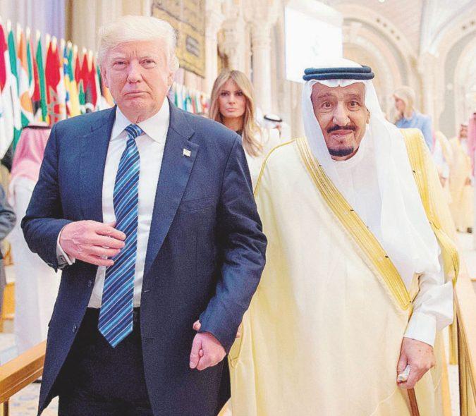 """Fanta-Trump: """"Khashoggi ucciso da malviventi"""""""