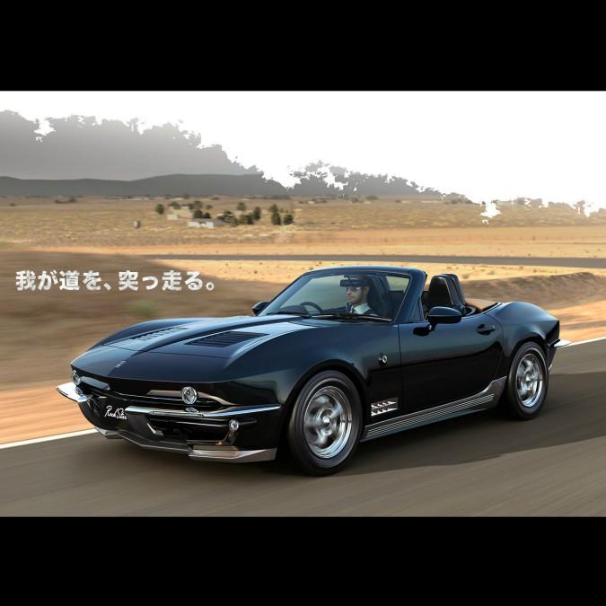 Mitsuoka Rock Star, è una Mazda MX-5 o una vecchia Corvette? – FOTO