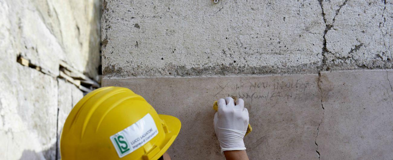 Pompei stupisce ancora, un'iscrizione a carboncino supporta teoria dell'eruzione del Vesuvio a fine ottobre