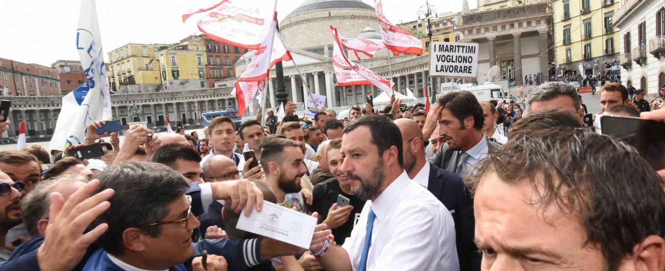 """Arresti per droga, Salvini: """"Grazie polizia per aver catturato venditori di morte"""". Ma uno di questi è esponente della Lega"""