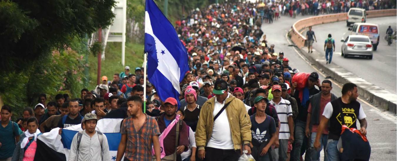 Migranti, la carovana che spaventa Trump: in 4mila ...