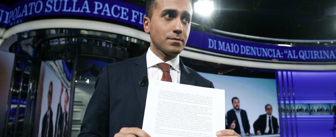 Pace fiscale, Repubblica ha già condannato il giacobino Di Maio