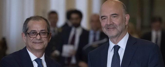 """Manovra, lettera Ue a Tria: """"Deviazione senza precedenti nella storia del patto. Inosservanza particolarmente grave"""""""