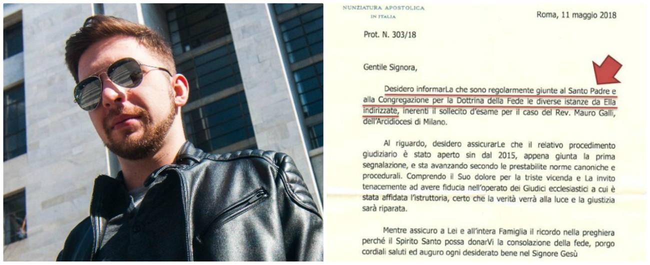 """Alessandro Battaglia, la prova è in una lettera: Papa Francesco sapeva degli abusi """"Ora rimuova mons. Delpini che lo coprì"""""""