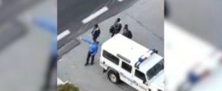 """La videodenuncia di Salvini: """"Un nuovo sconfinamento della polizia francese, è atto ostile"""". Le immagini a Claviere"""