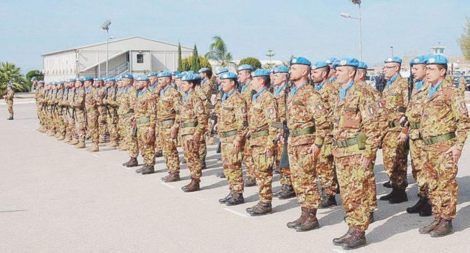 Militari in Libano, no alla liberatoria