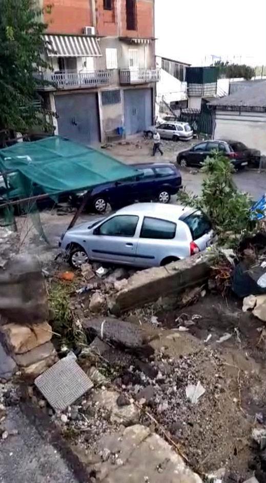 Sicilia, ondata di maltempo nella notte: esondano fiumi, aut