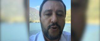 """Salvini a Di Maio: """"Al dl sicurezza il M5s ha presentato 81 emendamenti. Ragazzi, non è così che si lavora"""""""
