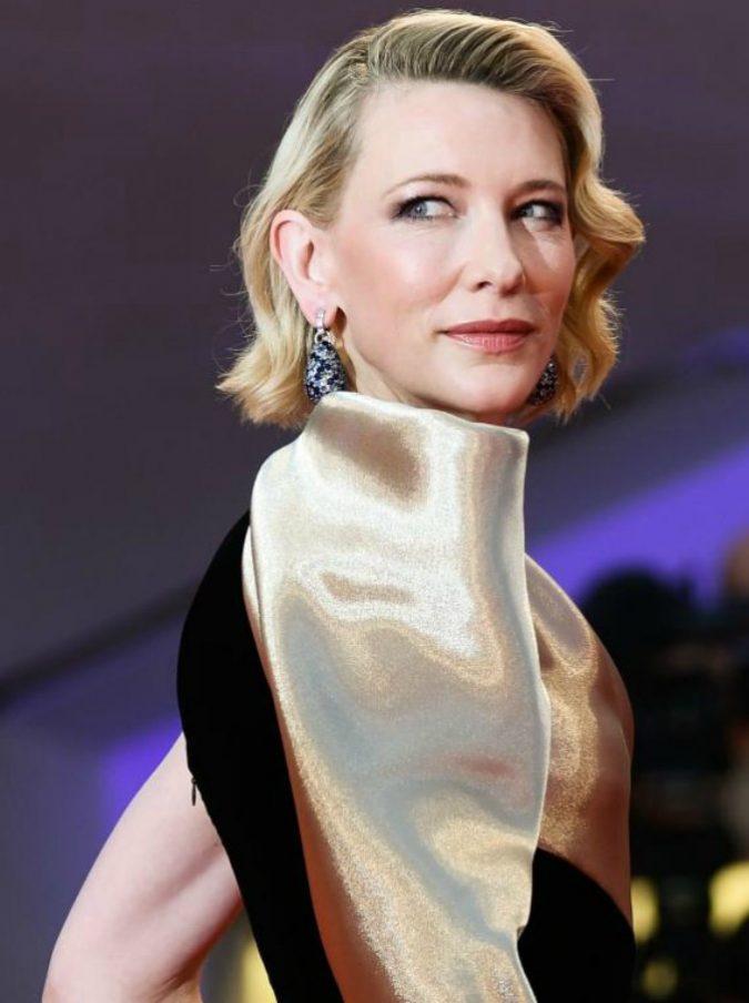 """Festa del Cinema di Roma, Cate Blanchett è una strega viola in Il mistero della casa del tempo: """"Da piccola ero ossessionata dai film horror"""""""