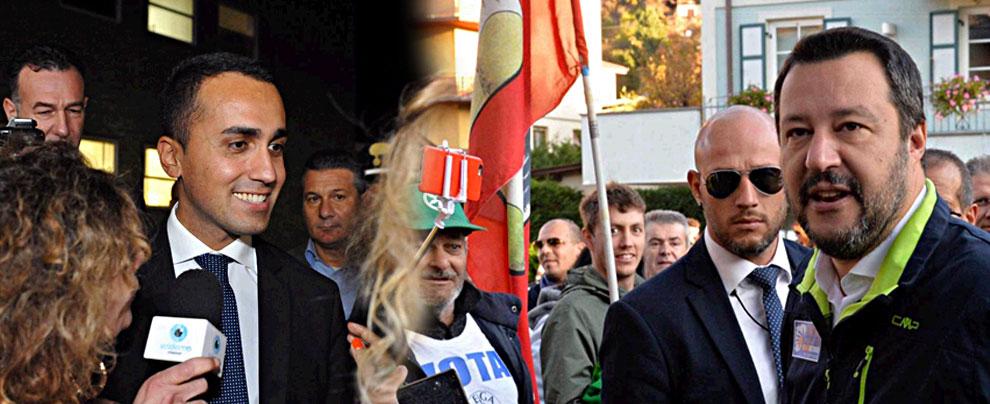 """Lega-M5S mancanza di sintonia. Salvini:""""M5S troppo vicino al PD"""""""