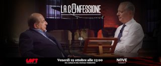 """La Confessione, Giancarlo Magalli su Nove: """"Saccà in Rai mi faceva la morale, poi era a mezzo servizio di Berlusconi"""""""