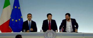 """Pace fiscale, Conte: """"Tecnicamente un ravvedimento operoso"""". Salvini: """"Faremo rottamazione cartelle Equitalia"""""""