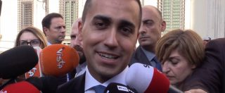 """Dl fiscale, Di Maio: """"Felice per no della Lega a condono, amici ritrovati. Daremo due copie del testo a Salvini"""""""