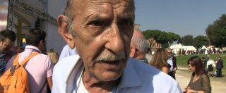 """Italia 5 stelle, il padre di Di Battista con il cartello No Tap: """"M5s non torni indietro, mi deluderebbe molto"""""""