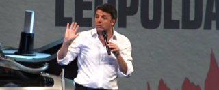 """Leopolda, Renzi contro tutti: dai dirigenti Pd """"beneficiati e rancorosi"""" al governo di """"cialtroni"""". Poi rilancia: """"Non starò zitto"""""""