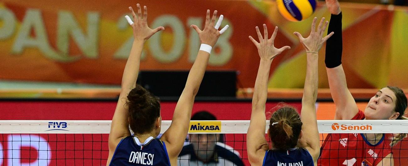 Mondiali volley femminili, vince la Serbia 3-2. L'Italia si arrende solo al tie-break