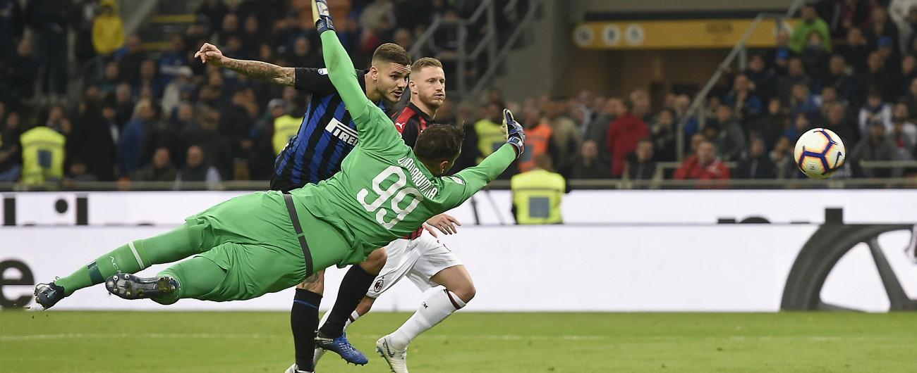 Inter-Milan 1-0: Icardi all'ultimo respiro regala il derby (meritato) a Spalletti. Gattuso non prova neanche a ringhiare