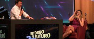 """Matteo Renzi presentatore? La Leopolda approva. E c'è chi azzarda: """"Lo vedo bene al posto di Fazio"""""""