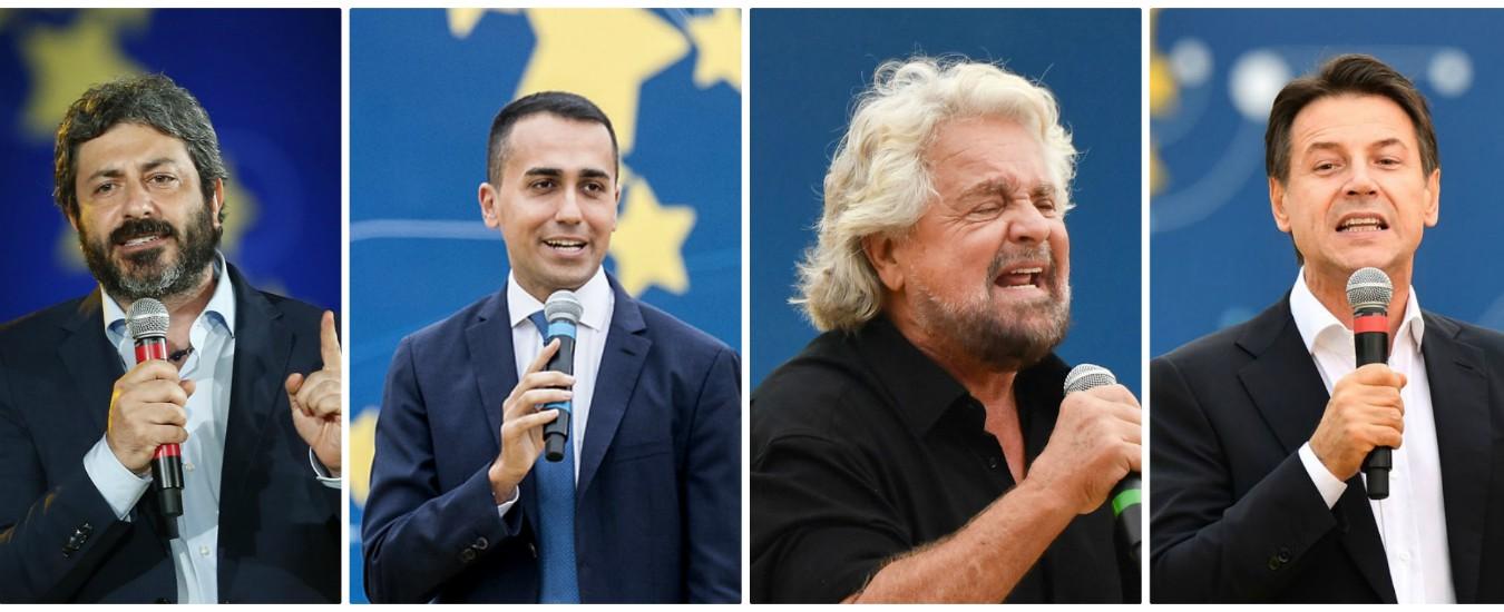 Italia 5 stelle, un movimento e (almeno) cinque volti: così escono dalla kermesse Di Maio, Fico, Di Battista, Grillo, Conte