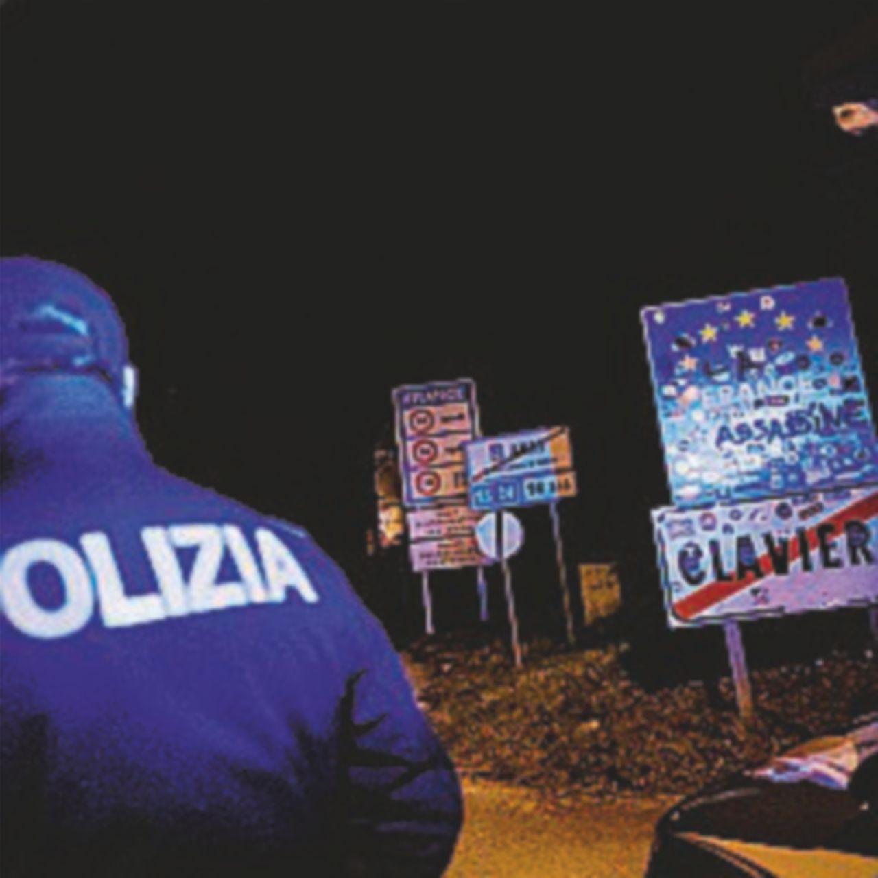 Claviere, il confine francese ora è presidiato