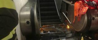 Roma, cede la scala mobile della metro: 24 feriti, uno grave. Coinvolti tifosi del Cska Mosca