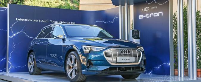 Audi e-tron ed Enel, insieme per lo sport utility a emissioni zero