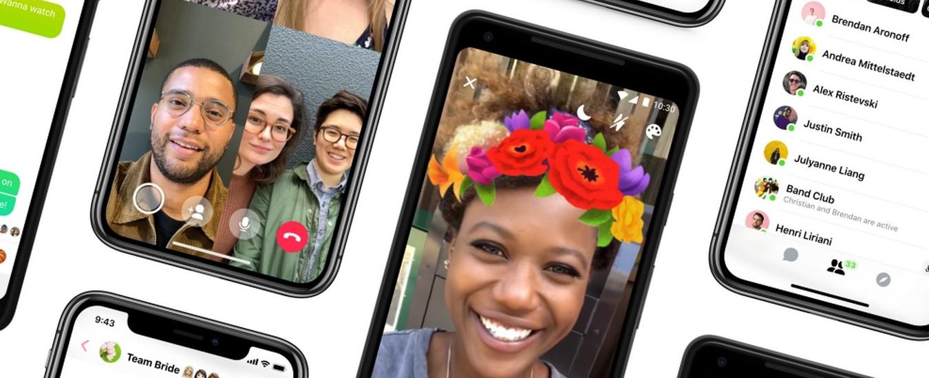 Facebook Messenger si aggiorna, la versione 4 è molto più semplice da usare
