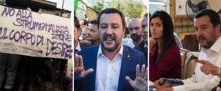"""Desirée Mariottini, Salvini: """"No buchi neri in centro"""". Raggi: """"La Lega non conosce Roma"""". Ministro contestato a S. Lorenzo"""