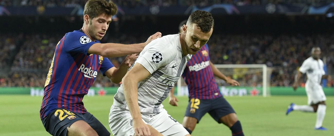 Barcellona-Inter: 2-0. Rafinha e Jordi Alba fanno piangere Spalletti. I nerazzurri lottano ma non basta
