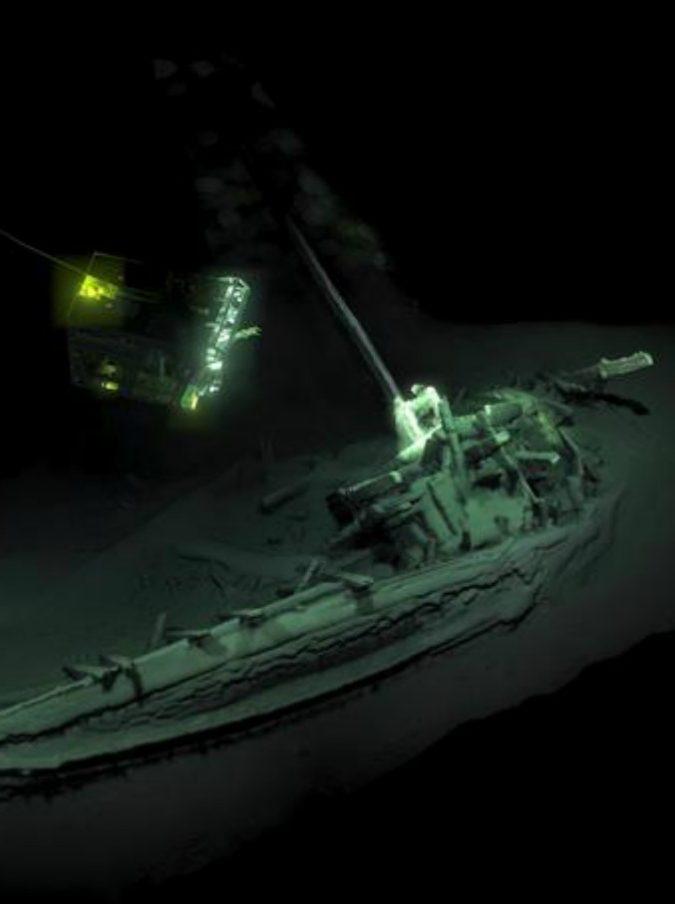 """Mar Nero, scoperto il relitto della """"nave di Ulisse"""": """"Ha 2400 anni ed è la più antica del mondo ritrovata finora"""""""