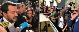 """Desirée Mariottini, Salvini contestato a San Lorenzo: """"Sciacallo"""". Per il ministro anche applausi e cori di solidarietà"""