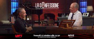 """La Confessione, Linus su Nove: """"Cecchetto? Mai stati amici. Fabio Volo? Non leggo i suoi libri, la radio la fa un po' con la mano sinistra"""""""