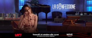 """La Confessione (NOVE), Nina Moric a Peter Gomez: """"Ho subito violenze psicologiche da mio padre. Non lo vedo da 10 anni"""""""