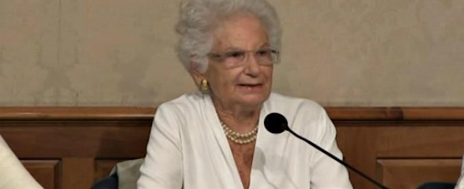 """Razzismo, la proposta di Liliana Segre: """"Commissione contro odio. Serve  lottare contro fascistizzazione del senso comune"""" - Il Fatto Quotidiano"""