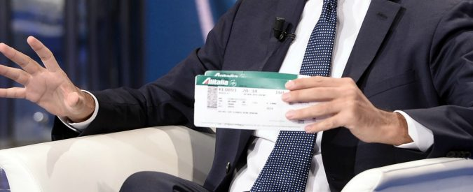 Ferrovie, l'acquisto di Alitalia non ha motivo. FS sembra una succursale dell'Inps