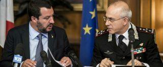 """Cucchi, la ministra Trenta ai carabinieri: """"Chi viola i valori dell'arma va isolato"""". Salvini: """"Errore di uno non infanghi tutti"""""""