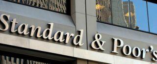 """Standard & Poor's conferma il rating dell'Italia ma taglia l'outlook a negativo: """"Con manovra deficit/pil salirà al 2,7%"""""""