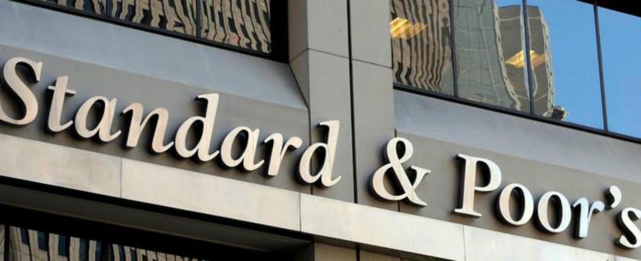 Standard & Poor's conferma rating BBB per l'Italia con outlook negativo: 'Crescita 2019 a +0,1%, dal reddito 0,2 punti'