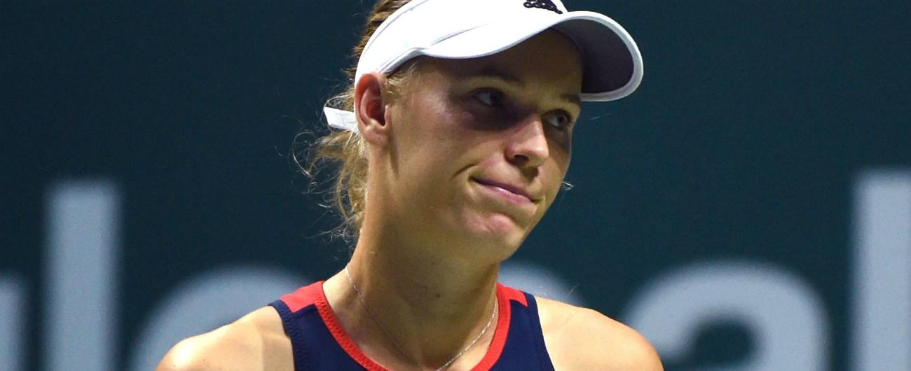 """Caroline Wozniacki, la tennista danese rivela: """"Ho l'artrite reumatoide. All'inizio è stato uno choc, ma starò meglio"""""""