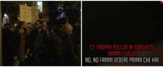 Desirée Mariottini, a San Lorenzo fiaccolata in corso e polizia a 20 metri: i pusher ci avvicinano per venderci la droga