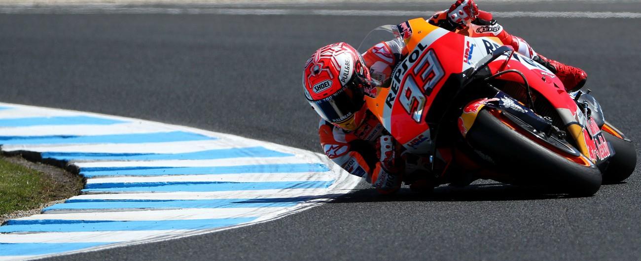 MotoGp Australia, qualifiche: in pole c'è sempre Marquez, Iannone primo italiano