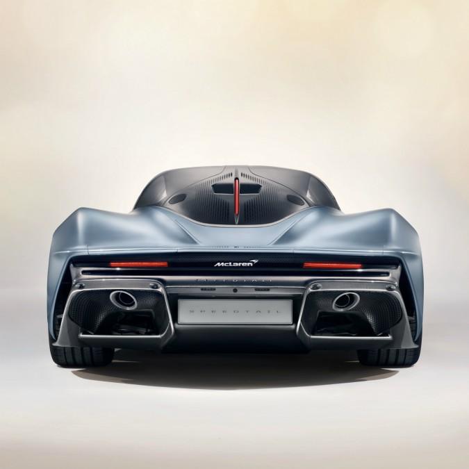 McLaren Speedtail, più veloce di una monoposto di Formula Uno – FOTO