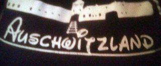 """Selene Ticchi, manifestante a Predappio con la scritta """"Auschwitzland"""" sulla maglietta. """"È solo humor nero"""""""