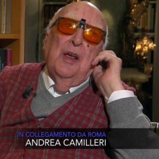 "Camilleri: ""Se ho avuto aperta la fantasia, se sono stato in"